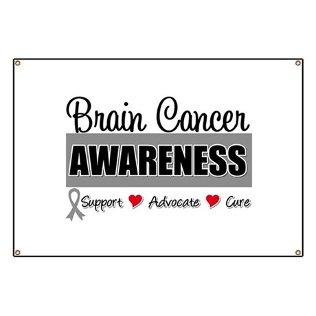 Brain Cancer Awareness Banner
