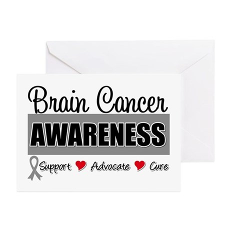 Brain Cancer Awareness Greeting Cards (Pk of 10)