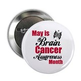"Brain Cancer Month 2.25"" Button"