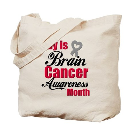 MayBrainCancerAwareness Tote Bag