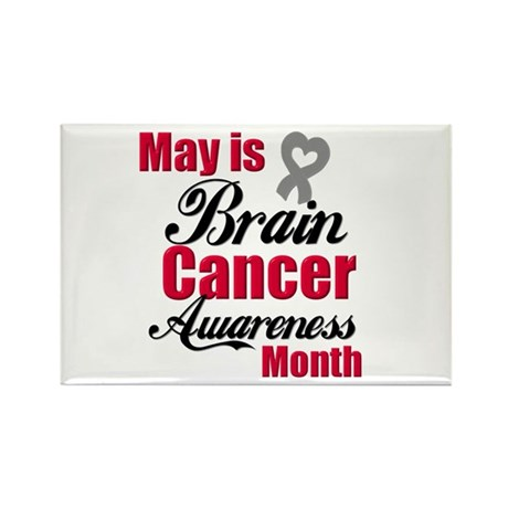 MayBrainCancerAwareness Rectangle Magnet