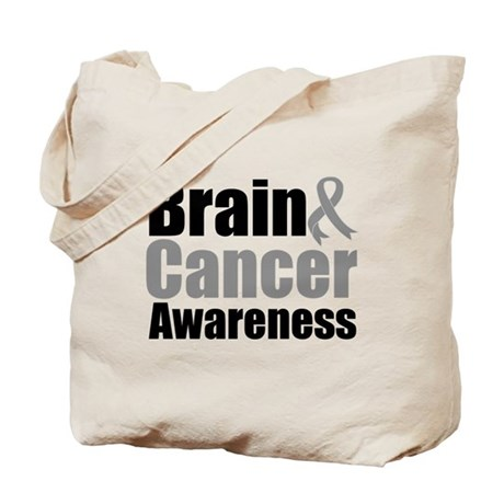 Brain Cancer Tote Bag