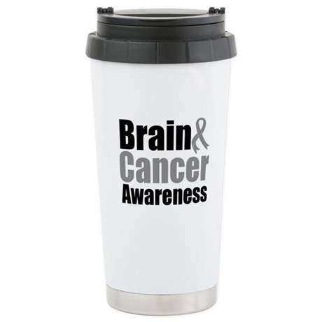 Brain Cancer Ceramic Travel Mug