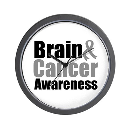 Brain Cancer Wall Clock