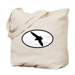 Gull Oval Tote Bag