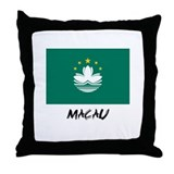 Macau Flag Throw Pillow