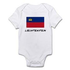 Liechtenstein Flag Infant Bodysuit
