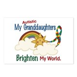 Brighten World 1 (A Granddaughters) Postcards (Pac
