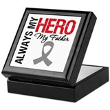 BrainCancerHero Father Keepsake Box
