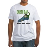 Earth Day Global Warming Fitted T-Shirt