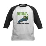Earth Day Global Warming Kids Baseball Jersey