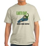 Earth Day Global Warming Light T-Shirt