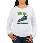 Earth Day Global Warming Women's Long Sleeve T-Shi