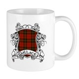 Wallace Tartan Shield Mug