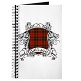 Wallace Tartan Shield Journal