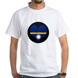 I love Nauru Flag Shirt