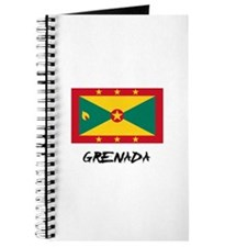 Grenada Flag Journal