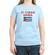#1 Cuban Mama T-Shirt