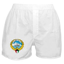 kuwait Coat of Arms Boxer Shorts