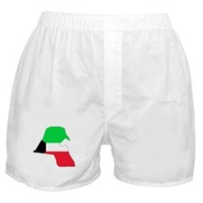 kuwait Flag Map Boxer Shorts