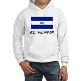El Salvador Flag Jumper Hoody