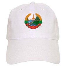 Laos Coat of Arms Baseball Cap