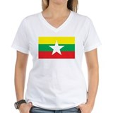 myanmar Flag Shirt