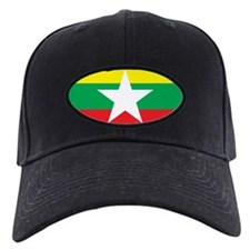 myanmar Flag Baseball Hat