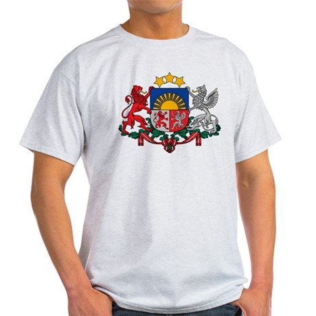 Latvia Coat of Arms Light T-Shirt