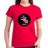 Flag Map of LIBERIA Tee