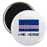 Cape Verde Flag Magnet