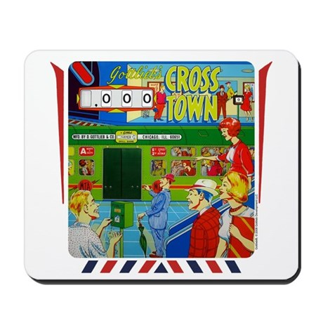 "Gottlieb® ""Cross Town"" Mousepad"