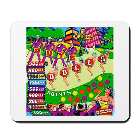 Gottlieb&reg; &quot;Guys Dolls&quot; Mousepad