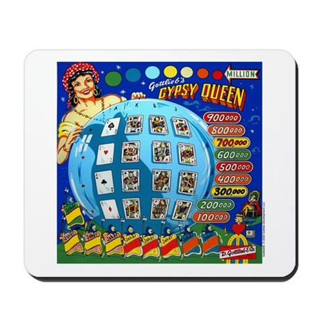 "Gottlieb® ""Gypsy Queen"" Mousepad"