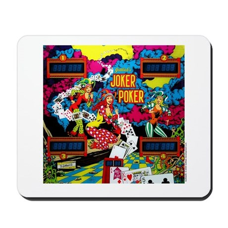 "Gottlieb® ""Joker Poker"" Mousepad"