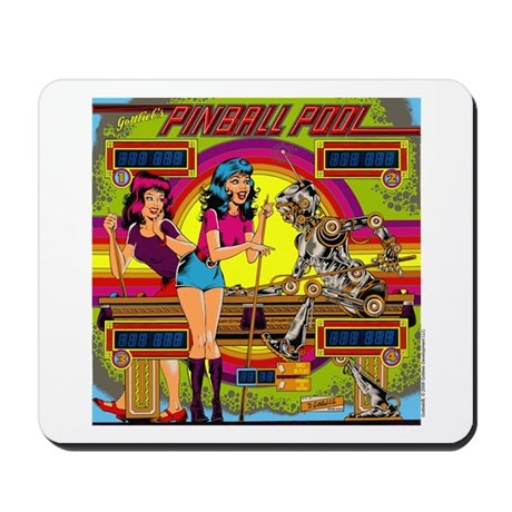 "Gottlieb® ""Pinball Pool"" Mousepad"