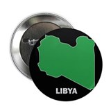 "Flag Map of Libya 2.25"" Button"