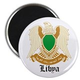 Libyan Coat of Arms Seal Magnet