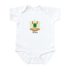 Libyan Coat of Arms Seal Infant Bodysuit
