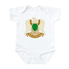 Libya Coat of Arms Infant Bodysuit