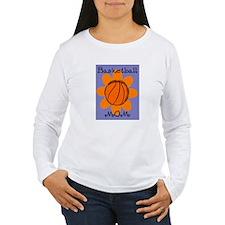 FLOWER BASKETBALL MOM T-Shirt