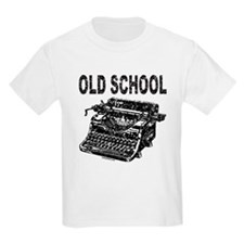 OLD SCHOOL TYPEWRITER T-Shirt