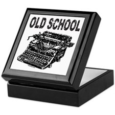 OLD SCHOOL TYPEWRITER Keepsake Box