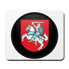 Coat of Arms of Lithuania Mousepad
