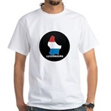 Flag Map of LUXEMBOURG Shirt