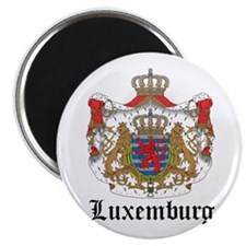 Luxembourger Coat of Arms Sea Magnet