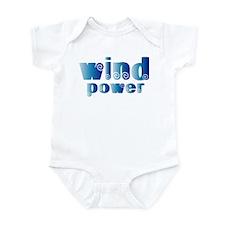 Wind Power Infant Bodysuit