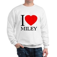 I (Heart) MILEY Sweatshirt