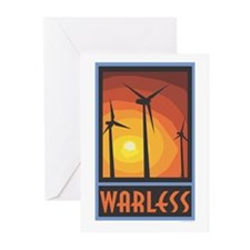 Warless Wind Power Greeting Cards (Pk of 10)