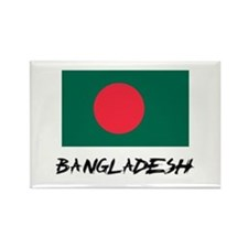 Bangladesh Flag Rectangle Magnet